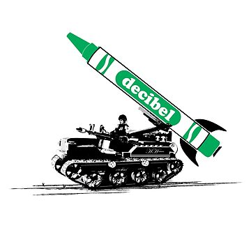 Crayon Missile by Decibel Clothing by DecibelAdelaide