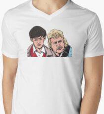 Troy and Zap Rowsdower Men's V-Neck T-Shirt