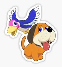 Super Smash Bros. Duck Hunt Sticker