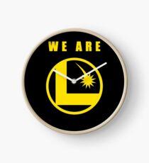 We Are Legion  Clock