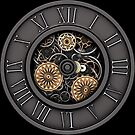 Vintage Steampunk Clock No.3 by Steve Crompton