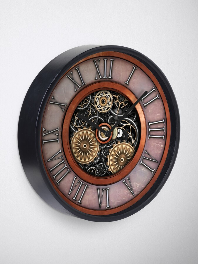Alternate view of Vintage Steampunk Clock No.4 Clock