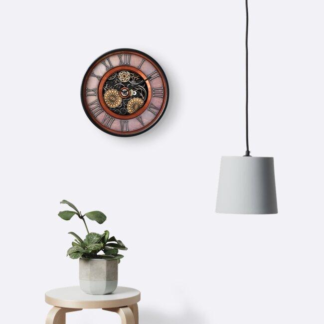 Vintage Steampunk Clock No.4 by Steve Crompton