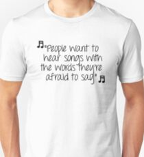 One Tree Hill - People want to hear T-Shirt