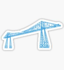 transporter bridge Sticker