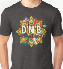Drum And Bass - Trippy Music Design T-Shirt