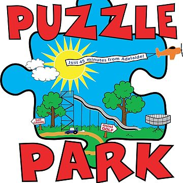 Puzzle Park by Decibel Clothing  by DecibelAdelaide