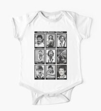 Aussie Moustache Hall of Fame by Decibel Clothing One Piece - Short Sleeve