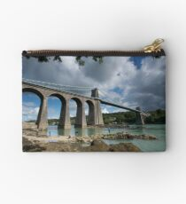 Menai Bridge, Anglesey Studio Pouch