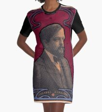 Claude Debussy's Nature of Beauty Graphic T-Shirt Dress