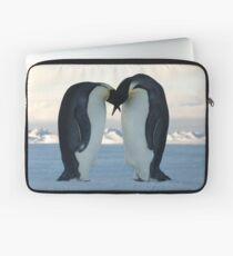 Emperor Penguin Courtship Laptop Sleeve
