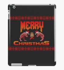 Christmas sweater for Doomguy iPad Case/Skin
