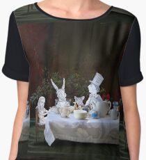 Alice in Wonderland/The Tea Party Chiffon Top