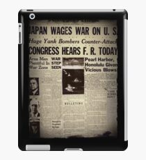 Japan Wages War WWII  iPad Case/Skin
