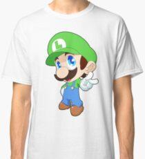 Super Smash Bros. Luigi Classic T-Shirt