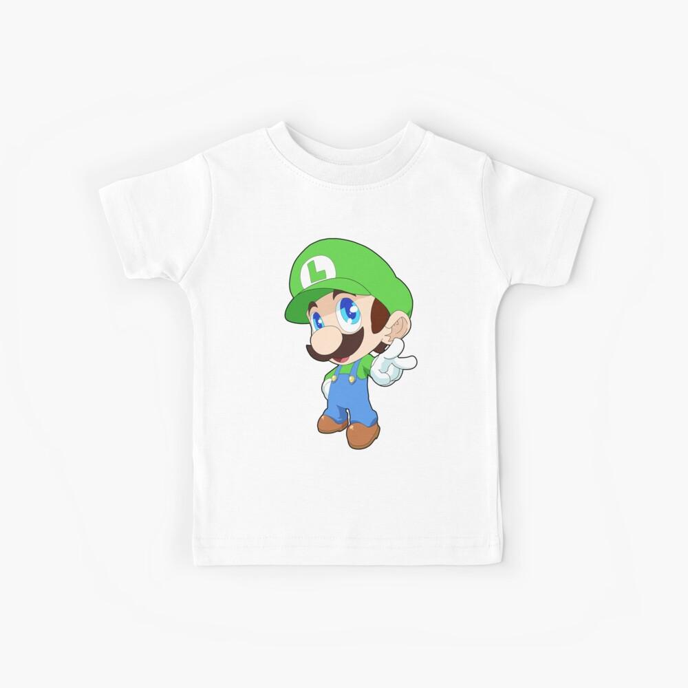Super Smash Bros. Luigi Kinder T-Shirt