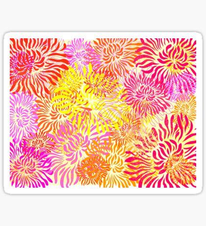 Flower Cracker Sticker