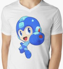 Super Smash Bros. Mega Man Men's V-Neck T-Shirt