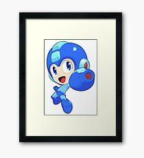 Super Smash Bros. Mega Man Framed Print
