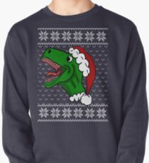 Santa T-Rex Christmas Sweater  T-Shirt