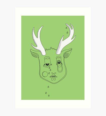 Do Moose Stuff Art Print