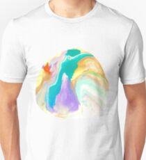 Deep Sea Colorful Surprises Marbling T-Shirt