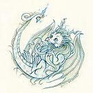 The Baby Crystal Dragon by Heather Hitchman