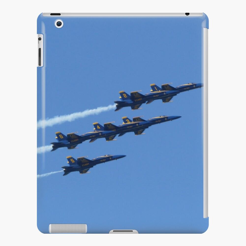 Blue Angels Over SF, 2015 Funda y vinilo para iPad