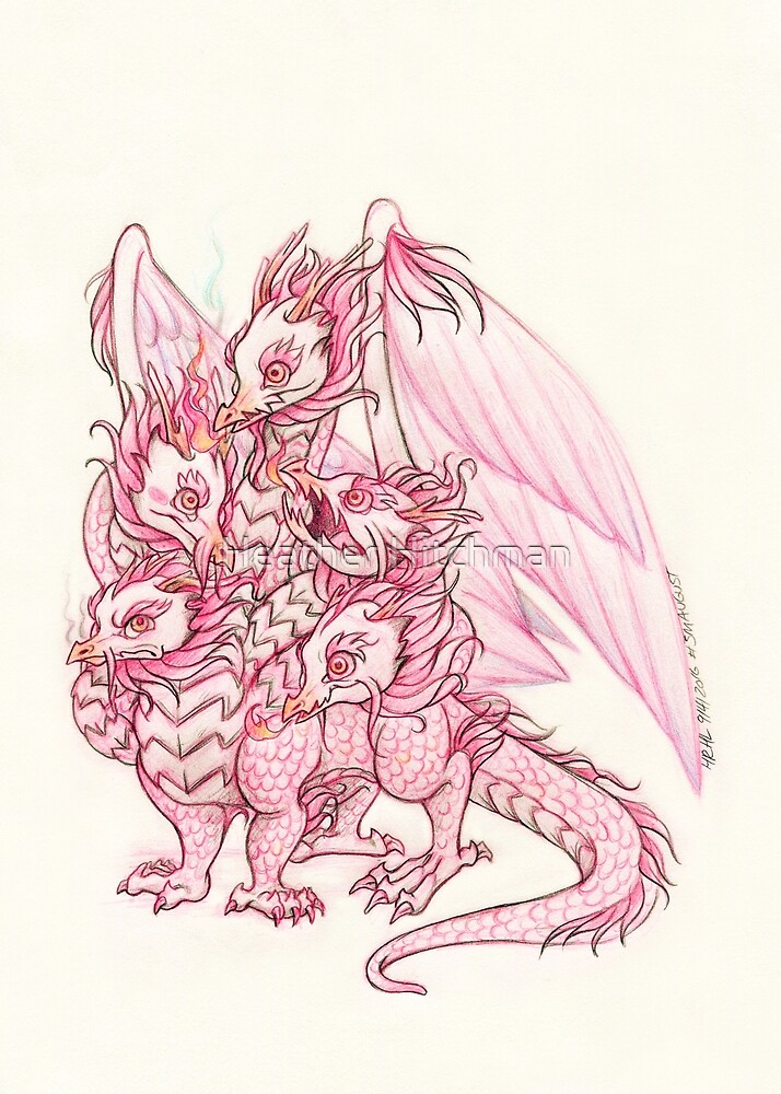 The Feathered Hydra Baby by Heather Hitchman