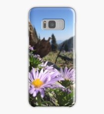 Mountain Flowers and Bikes Samsung Galaxy Case/Skin