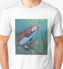 rainbow trout coming up for lunch Unisex T-Shirt