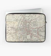 Vintage Map of Rennes France (1905)  Laptop Sleeve