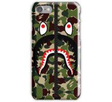 Camouflage Shark Hoodie iPhone Case/Skin