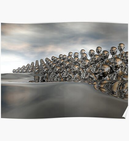 Wave Of Humanity Poster