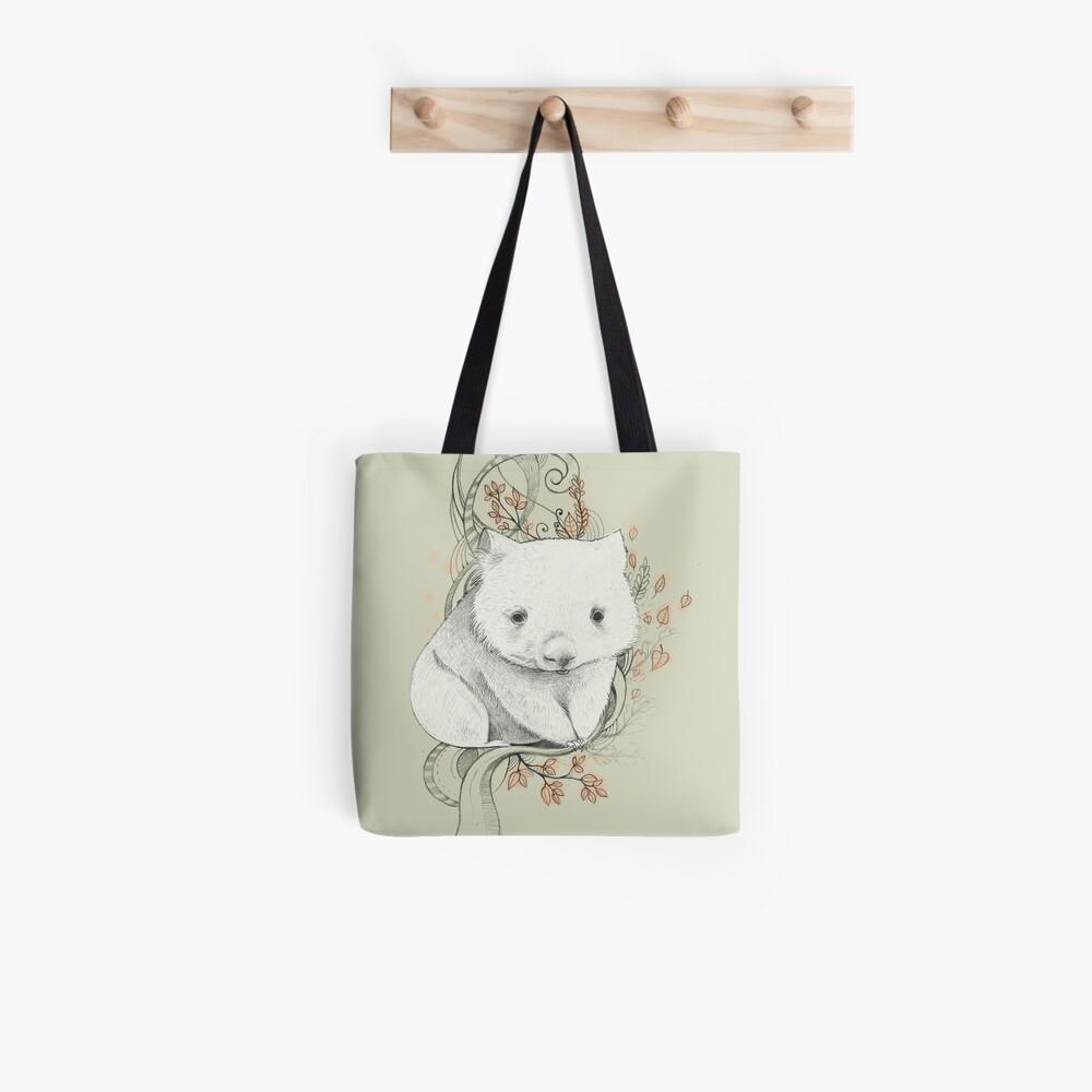 Wombat! Tote Bag