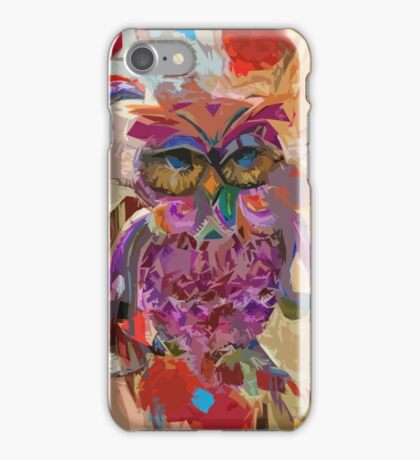 Scattered Owl iPhone Case/Skin