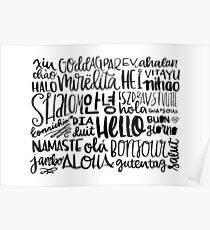 Hello - Languages Poster