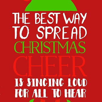 the best way to spread christmas cheer elf shirt by teeoftheday