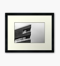 Dramatic London Architecture Framed Print