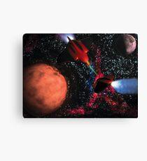 Space Wars Canvas Print