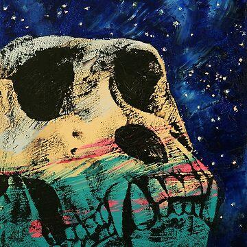 Gorilla Skull by michaelcreese
