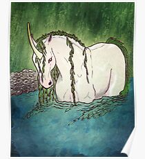 Willow Unicorn Poster