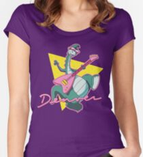 debcff8beb1 The Last Dinosaur Women s Fitted Scoop T-Shirt