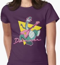 The Last Dinosaur Women's Fitted T-Shirt