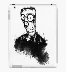 Lobotchomy - Dark Piercing Eyes iPad Case/Skin
