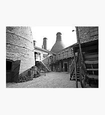 Gladstone Pottery Museum Stoke-on-Trent  Photographic Print