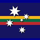 Australian-Lithuanian Flag by SKVee