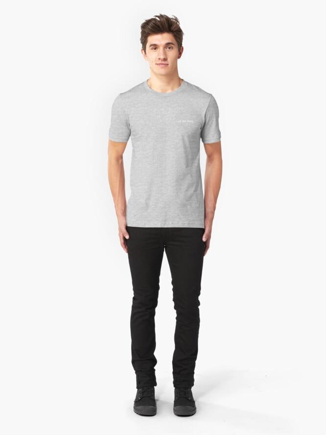 Alternate view of uh huh honey Slim Fit T-Shirt