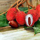 Lychee Fruit by Jason Pepe