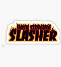 Hash Slinging Slasher (Thrasher Shirt) Sticker